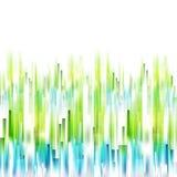 Lignes verticales fond de ressort abstrait Image stock