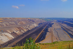 Lignite mining Royalty Free Stock Photography