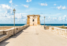 Ligny Tower in Trapani, Sicily Stock Images