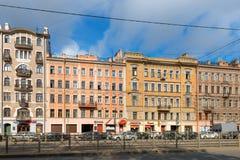 Ligovsky远景135, 137, 139 图库摄影