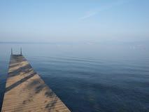 Ligplaats bij Meer Garda in Italië Royalty-vrije Stock Fotografie