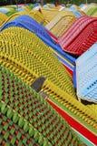Ligstoelen met een kap Stock Fotografie