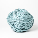 Blue cord. Ligth blue cord ball for knitting Stock Photos