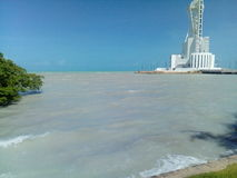 Ligthouse do mar Foto de Stock Royalty Free
