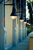 ligts street Στοκ Φωτογραφία
