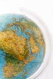 Ligue à terra o globo imagem de stock