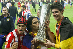 Ligue Bucarest finale 2012 d'Europa de l'UEFA Photo libre de droits
