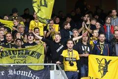 Ligue d'Europa de l'UEFA : FC Dynamo Kyiv v Young Boys Images libres de droits