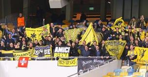 Ligue d'Europa de l'UEFA : FC Dynamo Kyiv v Young Boys Image stock