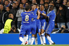 Ligue de champions d'UEFA du football Chelsea v Juventus Photo stock