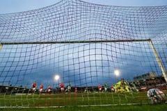 Ligue de correspondance de premier ministre Division de l'Irlande entre Cork City FC contre le FC sportif de St Patrick photo stock