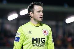 Ligue de correspondance de premier ministre Division de l'Irlande entre Cork City FC contre le FC sportif de St Patrick images stock