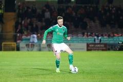Ligue de correspondance de premier ministre Division de l'Irlande entre Cork City FC contre le FC sportif de St Patrick image stock