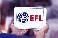 Ligue de Football anglaise, EFL, logo Image libre de droits