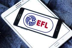 Ligue de Football anglaise, EFL, logo Image stock