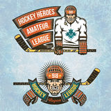 Ligue de Hockey amateur Photo libre de droits