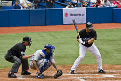 Ligue Majeure de Baseball : Rod Barajas Photo stock