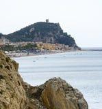 Ривьера Ligure стоковое изображение