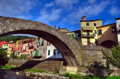 Ligure de Varèse de vue, Ligurie, Italie Image stock