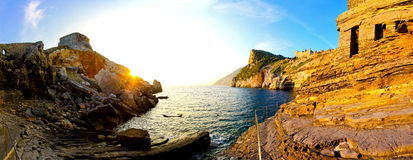 Liguria coast royalty free stock photography