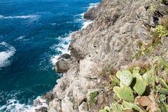 Liguria costera Fotos de archivo libres de regalías