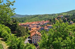 Liguria - Crocefieschi village Stock Photography