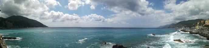 Liguria& x27; mar de s Foto de Stock Royalty Free