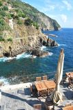 Liguria sea - Italy Stock Photography