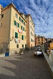 Liguria - Sori. Urban view in Sori, small village in Liguria, Italy Stock Images