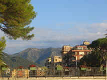 Liguria, town. Liguria Royalty Free Stock Image