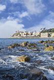 Ligurian coast Royalty Free Stock Photography