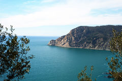 Ligurian coast at Cinque terre, Italy. Stock Photos
