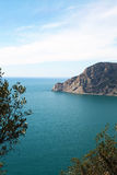 Ligurian coast at Cinque terre, Italy. Royalty Free Stock Photography