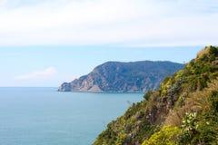 Ligurian coast, Italy. Royalty Free Stock Photo