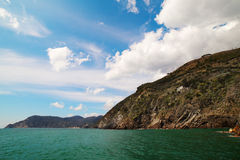 Ligurian coast, Italy. Stock Photos
