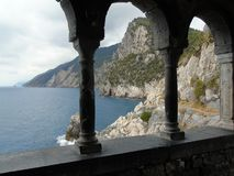 Ligurian Coast. Liguria Coast, Porto Venere, Italy Royalty Free Stock Photo