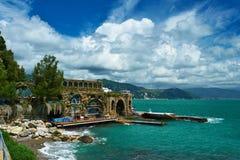 Ligurian coast Royalty Free Stock Photo