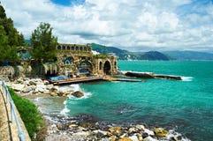 Ligurian coast Royalty Free Stock Image