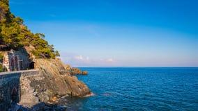 Ligurian coast panorama Royalty Free Stock Image