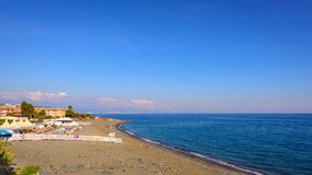 The ligurian coast Royalty Free Stock Photo