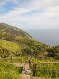 Ligurian coast Stock Photo