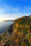 Ligurian Coastline - Cinque Terre Italy Stock Photos