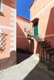 Ligurian homes, Camogli, Italy Royalty Free Stock Photo