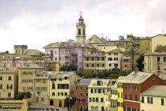 Ligurian kustdorp Royalty-vrije Stock Afbeelding