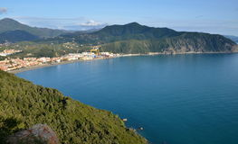 Ligurian landscape, Italy Stock Photo