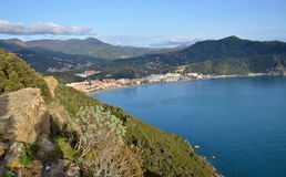 Ligurian landscape, Italy Royalty Free Stock Photos