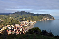 Ligurian landscape, Italy Stock Photography