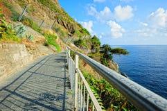 Ligurian landschap Royalty-vrije Stock Afbeeldingen