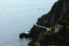 Ligurian overzees Royalty-vrije Stock Foto's