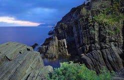 Ligurian rocks landscape. (Cinque Terre, Italy Stock Images